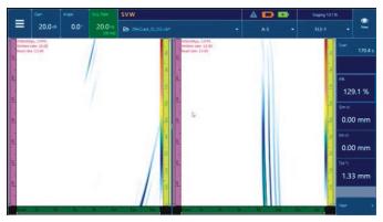 OmniScan X3相控阵探伤仪数据